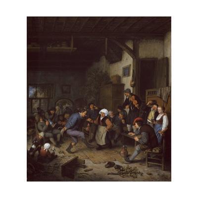 Merrymakers in an Inn, 1674
