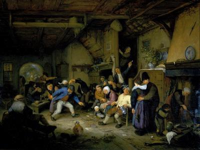 Peasants Dancing in a Tavern, 1659
