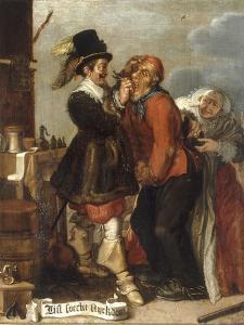 Guile Leads to Wealth by Adriaen Pietersz van de Venne