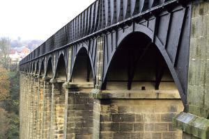 Arches of the Pontcysyllte Aqueduct by Adrian Bicker