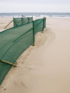 Beach Fence by Adrian Bicker