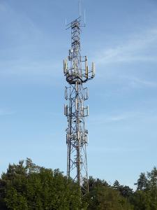Communication Mast by Adrian Bicker