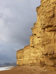 Eroded Cliffs At Burton Bradstock by Adrian Bicker