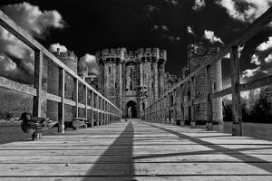 Leading to Bodiam Castle by Adrian Campfield