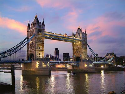 Tower Bridge at Dusk by Adrian Campfield