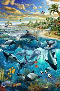 Dolphin Beach by Adrian Chesterman