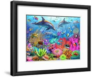 Dolphin Coral Reef by Adrian Chesterman