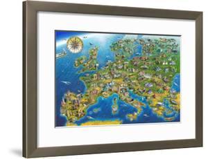 European Landmarks by Adrian Chesterman