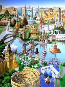 Landmarks of the World by Adrian Chesterman