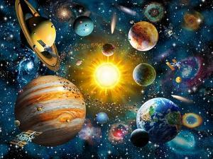Our Solar System by Adrian Chesterman