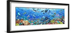 Underwater Panorama by Adrian Chesterman