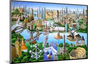 World Landmarks by Adrian Chesterman