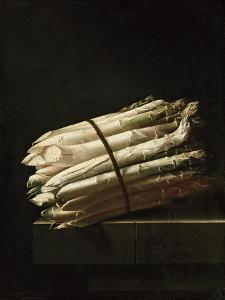 Still Life of Asparagus, 1699 by Adrian Coorte
