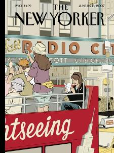 The New Yorker Cover - June 11, 2007 by Adrian Tomine