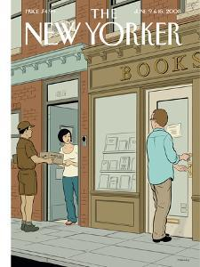 The New Yorker Cover - June 9, 2008 by Adrian Tomine