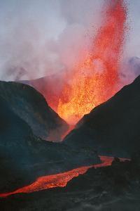 Volcano Eruption by Adrian Warren