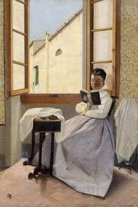 Aunt Erminia, 1867-1870 by Adriano Cecioni