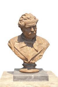 Giosuè Carducci, 1890 by Adriano Cecioni