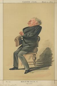 Mr Alexander William Kinglake by Adriano Cecioni