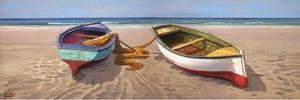 Barche sulla battigia by Adriano Galasso