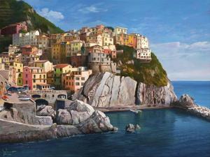 Manarola Le Cinque Terre by Adriano Galasso