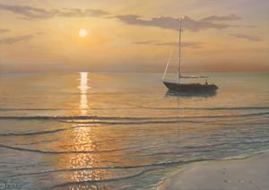 Mattino sul mare by Adriano Galasso