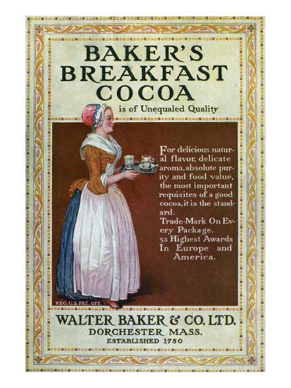 Ads: Cocoa, c1900--Giclee Print