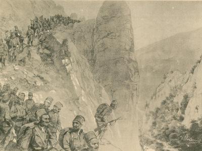 Advance of the Bosnian Herzogivinan Infantry--Giclee Print