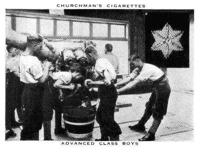 Advanced Class Boys, 1937- WA & AC Churchman-Giclee Print