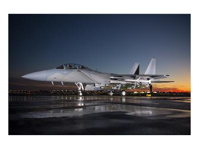 Advanced F-15 multi-role fighter--Art Print