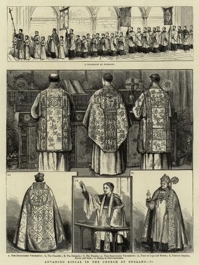 Advanced Ritual in the Church of England, II--Giclee Print