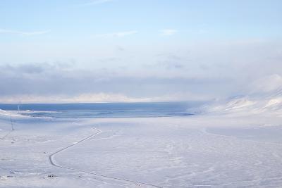 Adventdalen Valley, Adventfjorden Fjord (Advent Bay), Spitsbergen-Stephen Studd-Photographic Print