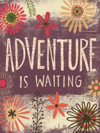 Adventure Is Waiting-Katie Doucette-Art Print
