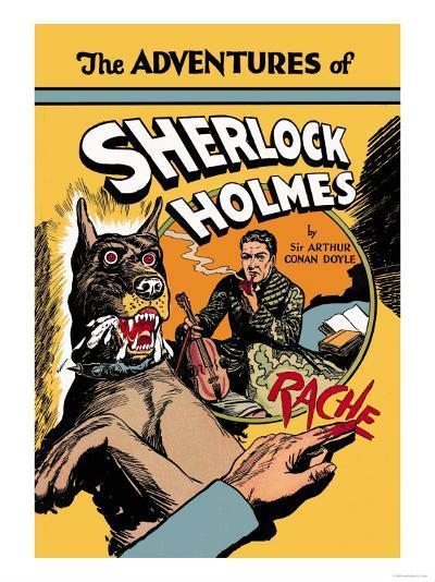 Adventures of Sherlock Holmes- Guerrini-Art Print