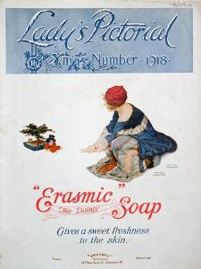 Advert for 'Erasmic' Soap, 1918