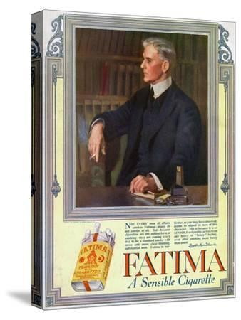 Advert for Fatima Cigarettes, 1916