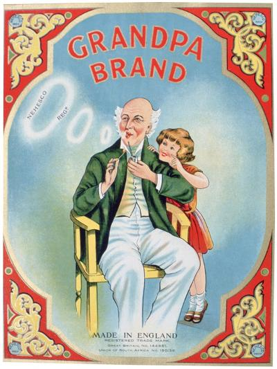 Advert for Grandpa Brand Pipe Tobacco--Giclee Print