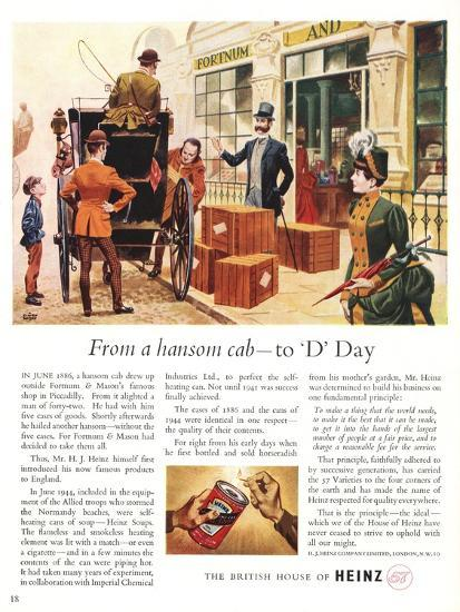 Advert for Heinz Soup--Giclee Print