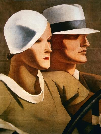 Advert for Italian Hatmaker Borsalino, 1929--Giclee Print