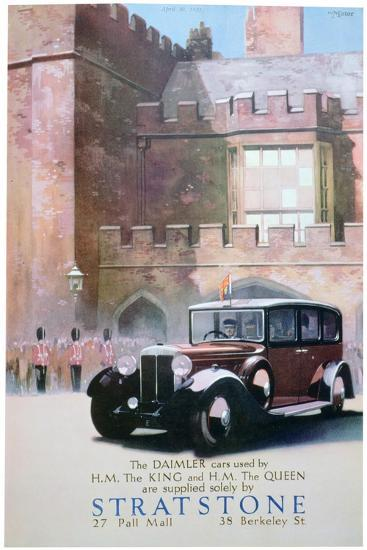 Advert for Stratstone Car Retailers, 1935--Giclee Print