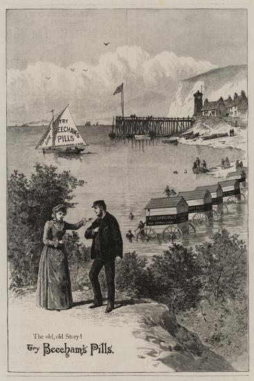 Advertisement, Beecham's Pills--Giclee Print