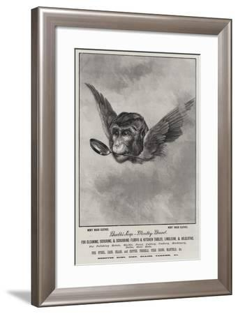 Advertisement, Brooke's Soap--Framed Giclee Print