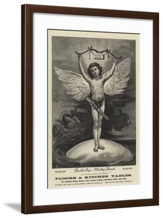 Advertisement, Brooke's Soap--Framed Giclee Print