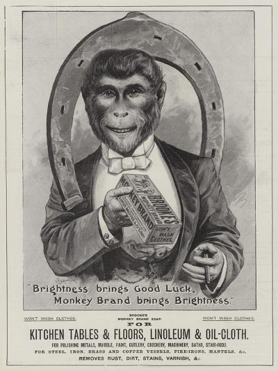 Advertisement, Brooke's Soap--Giclee Print