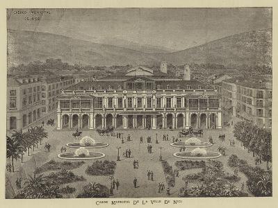 Advertisement, Casino Municipal De La Ville De Nice--Giclee Print