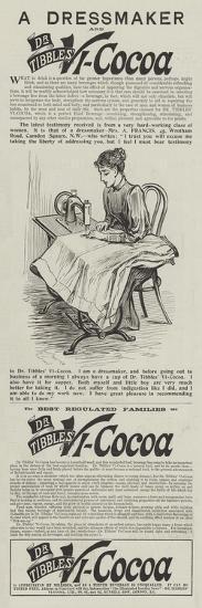 Advertisement, Dr Tibbles' Vi-Cocoa--Giclee Print