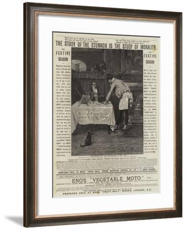 Advertisement, Eno's Fruit Salt, Eno's Vegetable Moto--Framed Giclee Print