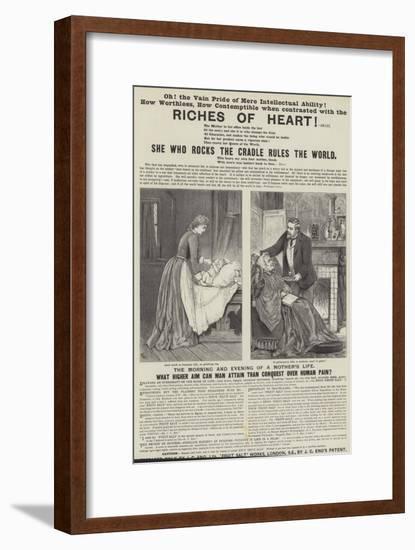 Advertisement, Eno's Fruit Salt-Adelaide Claxton-Framed Premium Giclee Print