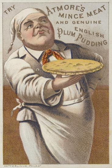 Advertisement for Atmore's Mince Meat and Genuine English Plum Pudding--Giclee Print