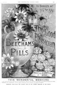 Advertisement for Beecham's Pills, 1887